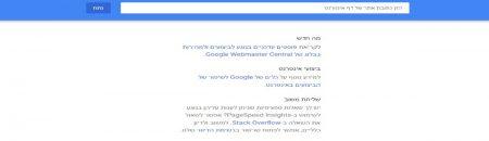כיצד לבצע בדיקת מהירות לאתר -גוגל פייג' ספיד אינסייטס